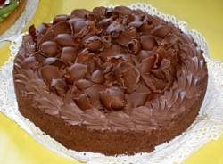 Gorgeous Italian Chocolate Cake
