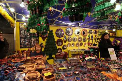 Clocks and Ornaments, Christmas Market, 2009, Milan, Italy