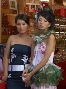 Pretty Chinese Girls in Via Paolo Sarpi