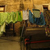 Clothes Hanging out to dry, Palermo, Italy, November 2008