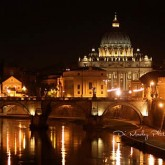 At Night in Rome