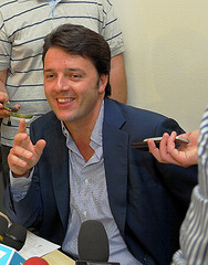Matteo Renzi - the new leader of Italy's left