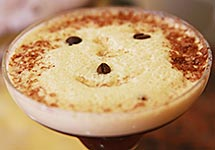A Happy Caffe Shakerato