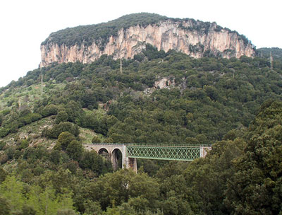 The Seui Bridge, Ogliastra