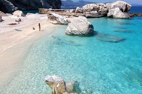 One of Sardinia's Many Unspoilt Beaches