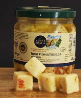 Spicy Terre d'Italia Toma Piemontese Cheese