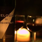 One of Casamonti's Tuscan wines - L'Elogio