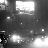 A Foggy Night in Milan – Photographs