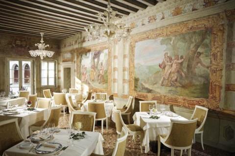 The Elegant Surroundings of the Castelbrando Hotel