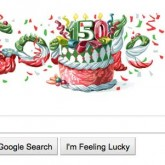 Google says Happy Birthday Italy