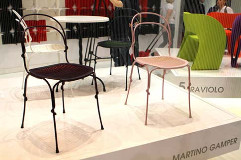 Chairs by Martino Gamper