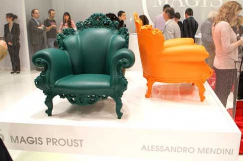 Proust chair/throne by Alessandro Mendini