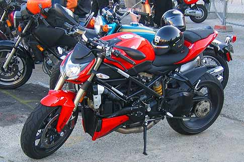 A Ducati Streetfighter