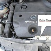 Installed Dukic Emissions Reduction Device