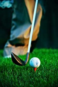 Not all golfers are on the ball