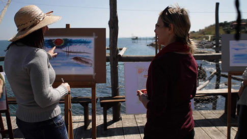 Painting Abruzzo, Italy. This Could be You!