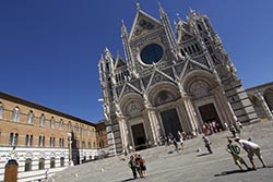 Siena Cathedral - Just one of Thousands of Tourist Attractions in Italy