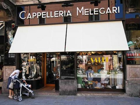 Shopping in Milan? If so, you'll find lots of interesting shops like this one
