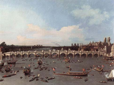 Canaletto's Westminster Bridge 1746