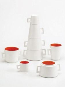 Totem breakfast set cups by River-Design