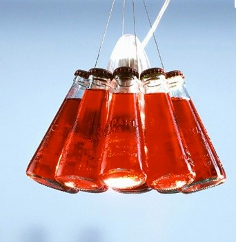 Campari Soda Bottle Lamp shade