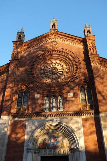 One of Milan's many interesting churches