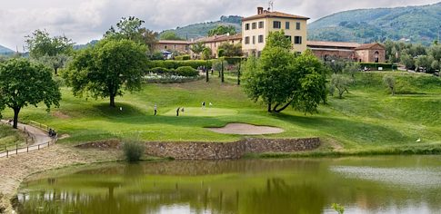 The Montecatini golf course in Tuscany