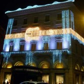 Xmas Lights in Rome