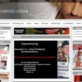 Web site of Fabrizio Corona Hacked