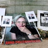 Memorial to Anna Politkovskaya, in Paris