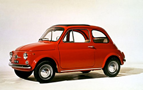 the fiat 500 an italian design classic a potted history. Black Bedroom Furniture Sets. Home Design Ideas