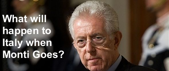 what will happen to Italy when Mario Monti goes?