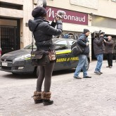 A Journalist Films the Tax Cops in Via Paolo Sarpi, Milan