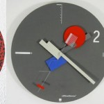 Memphis Design Influenced Clocks