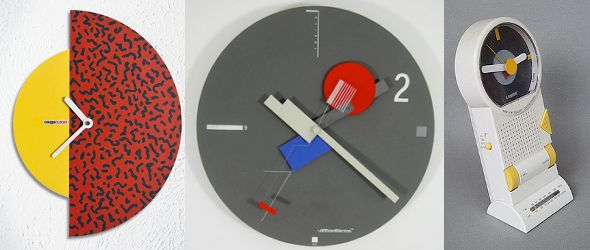Memphis Design Clocks - Originals & Others