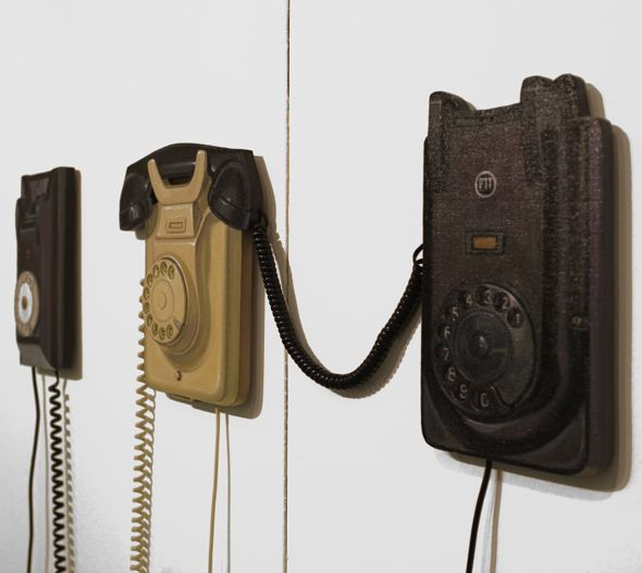 Paul Critchely's 3d Telephones