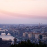 Florence from the top of the Piazzale Michelangelo