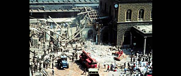 Part of the history of terrorism in Italy - The Bologna Station Bombing