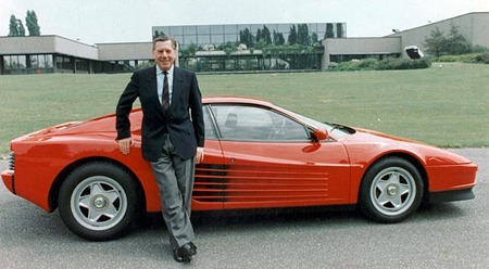 The Ferrari Testarossa
