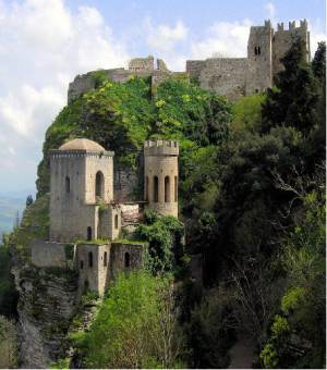 Enchanting Erice Castle in Sicily