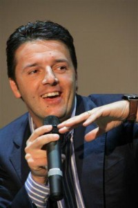 Italy's Matteo Renzi in happier times