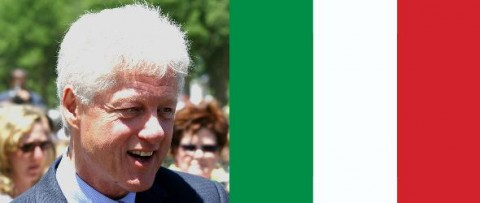 Bill Clinton to Lead Save Italy Team
