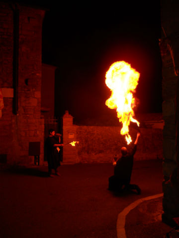 Fire Eaters - Photo Jenny Mead