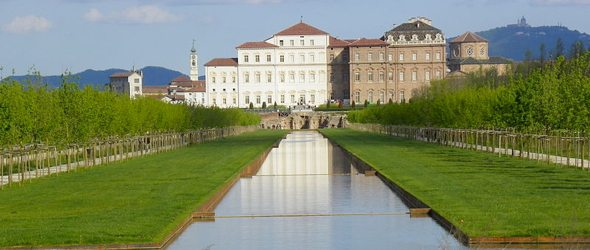 the Palace of Venaria Turin