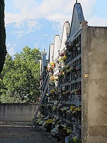View from an Abruzzo graveyard