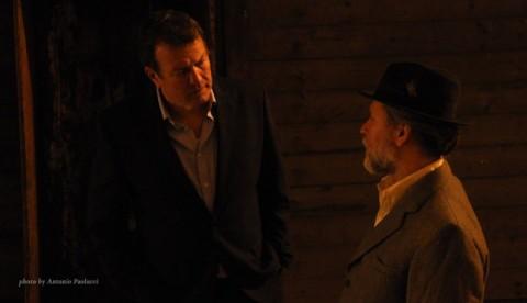 Glen Murphy - left with Giovanni Capalbo