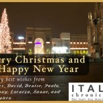 Merry Christmas from Italy Chronicles!