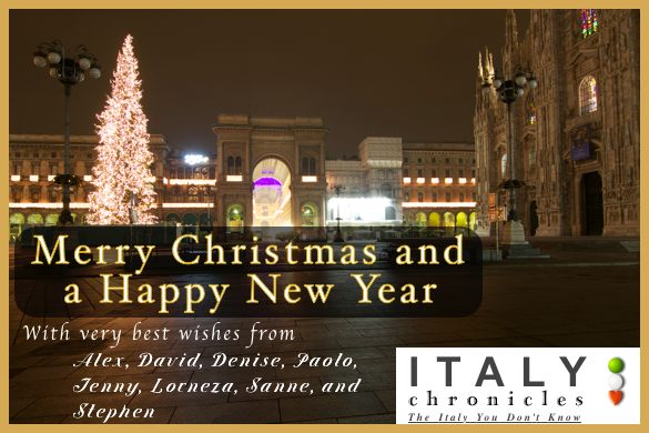 Merry Christmas from Italy Chronicles