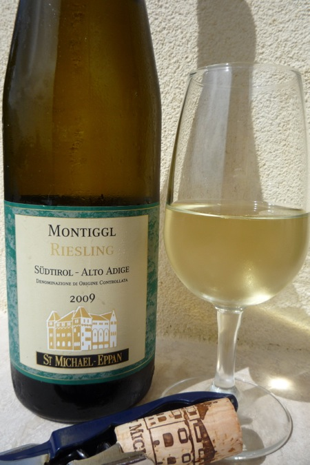 From the Sud-Tirol-Alto Adige region, a delicious Riesling