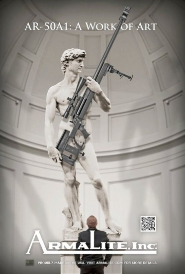 The Italy Offending Armalite Ad